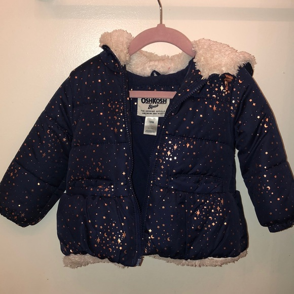 OshKosh B'gosh Other - Navy puffer jacket